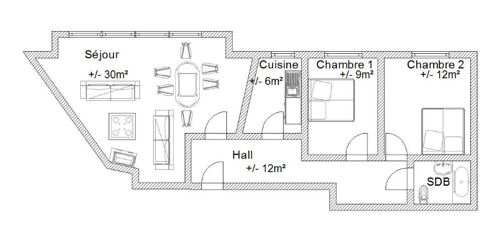 Appartement - Châtelet - #1509898-16